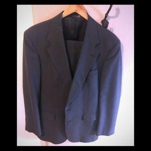 Other - Navy herringbone suit jacket and slacks